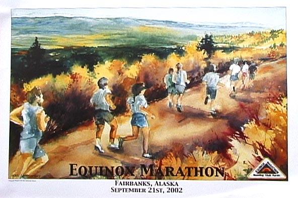 Equinox marathon poster