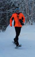 Snowshoe runner
